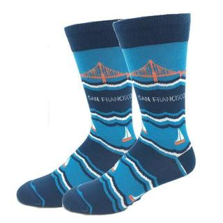 Golden Gate Bridge Socks