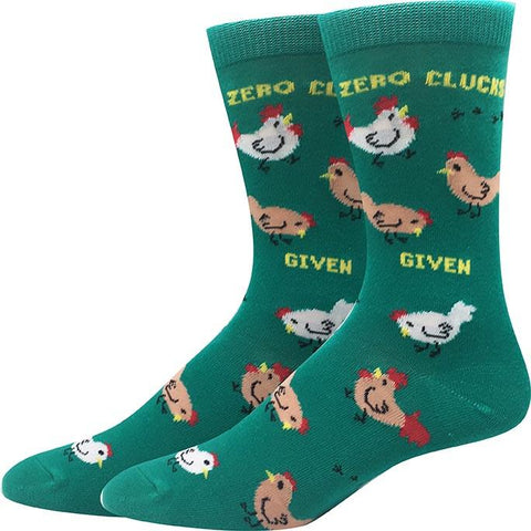 Zero Clucks Given Socks