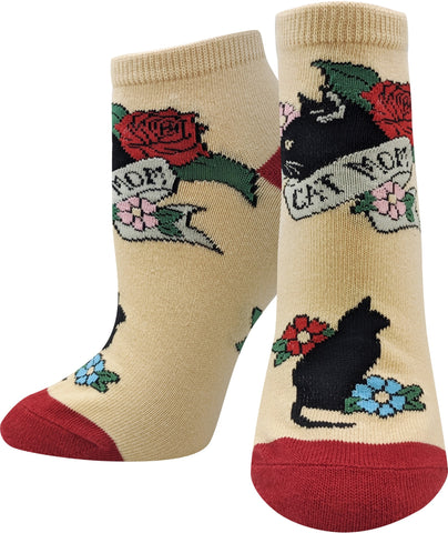 Cat Mom Ankle Socks