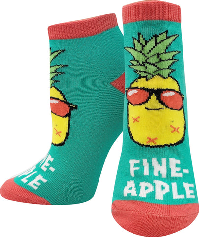 Fine-apple Ankle Socks