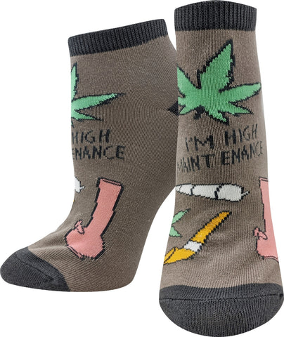 High Maintenance Ankle Socks