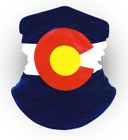 Colorado Flag Neck Gaiter