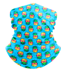 Retro Pineapples Neck Gaiter