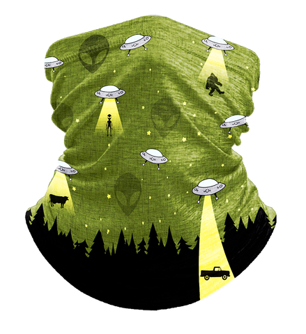 UFO Bigfoot Neck Gaiter