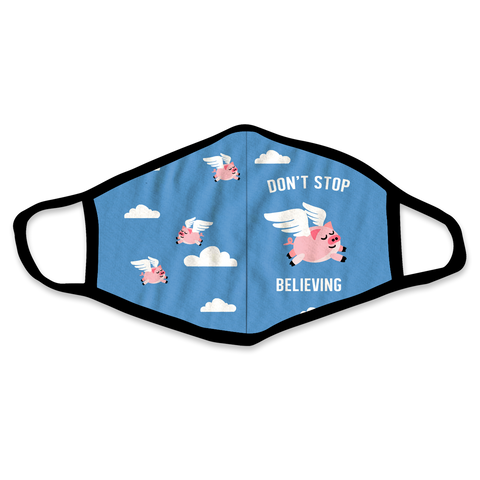 When Pigs Can Fly Face Mask