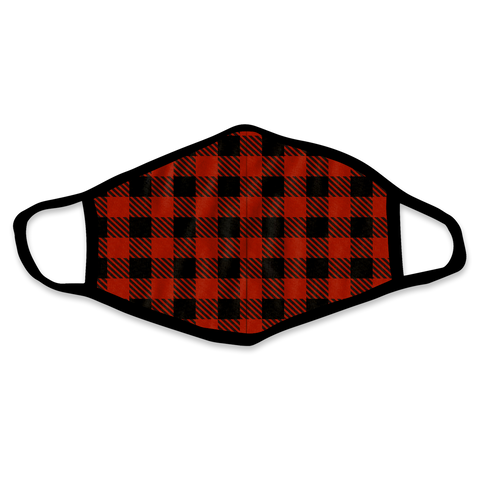 Lumberjack Plaid Face Mask