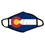 Colorado Flag Face Mask