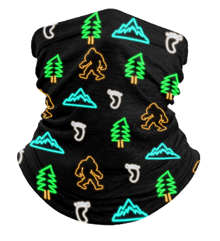 Neon Bigfoot Neck Gaiter