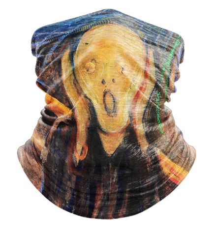The Scream Neck Gaiter