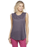 Ladies Slub Sleeveless Crew Tee
