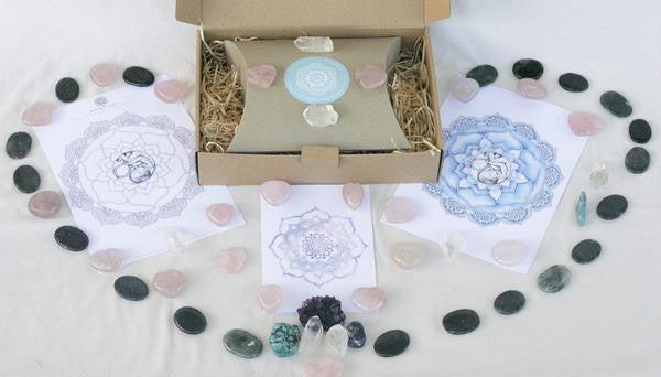 THE BIRTH BLESSING BOX ~ ROSE QUARTZ