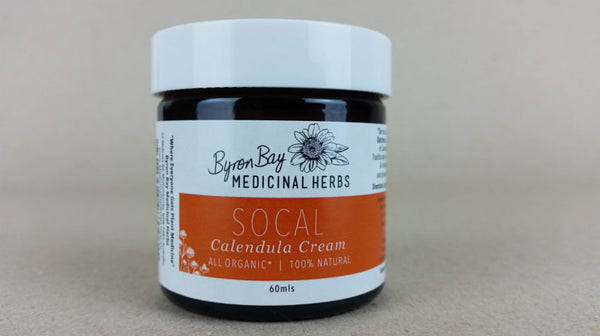 SoCal Calendula Cream is hand crafted in micro batches