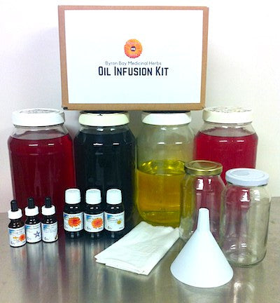 The Botanical Oil Infusion Experience Workshop - Sunday 22nd October 2017