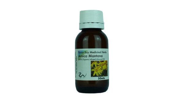 arnica infused almond oil organic
