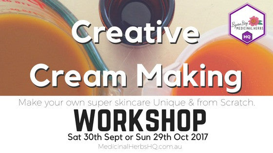 Creative cream making workshop byron bay