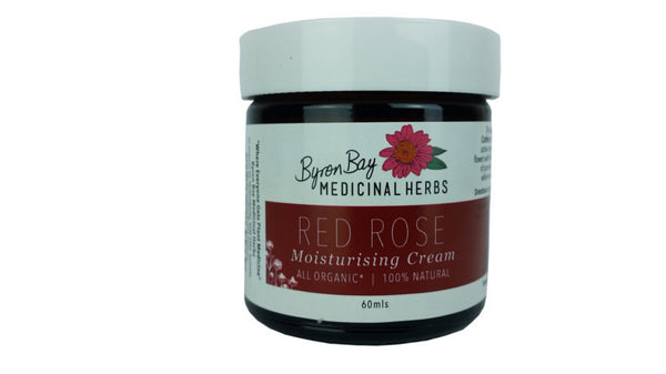Love Red Rose Moisturising Cream Hand Made in Micro Batches