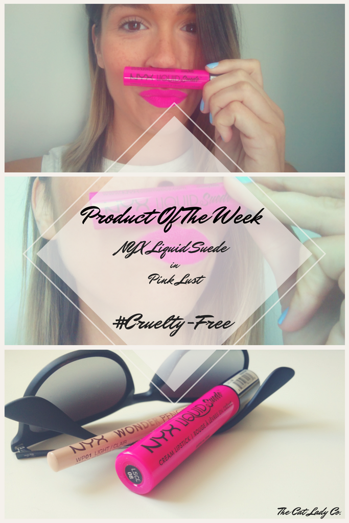 Cruelty-Free Product Of The Week | NYX Liquid Suede in Pink Lust