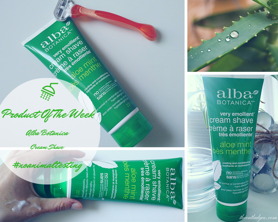 Cruelty-Free Product Of The Week | Alba Botanica Cream Shave
