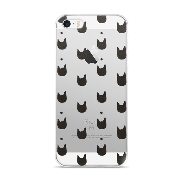 iPhone Case | All Over Cat Head