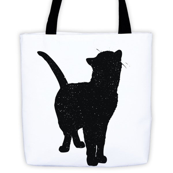 Tote Bag | Looking Up Cat