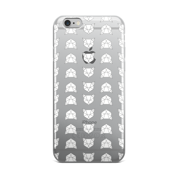 iPhone case | All Over Geometric Cat