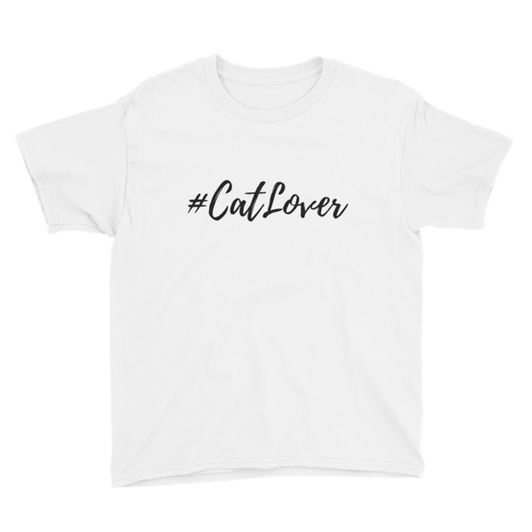 Youth Unisex T-Shirt | #Cat Lover