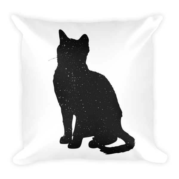 Decorative Pillow | Sitting Cat