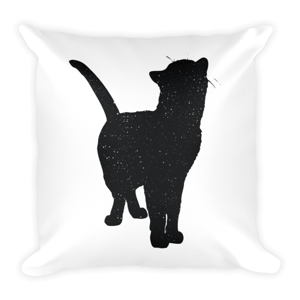 Decorative Pillow | Looking Up Cat