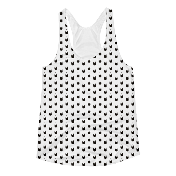Women Tank Top | Cat Head All Over