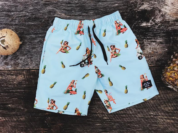 Aloha Girls Board Short