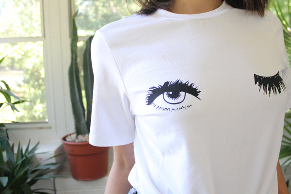Eyelash TEE - Hippie Kids