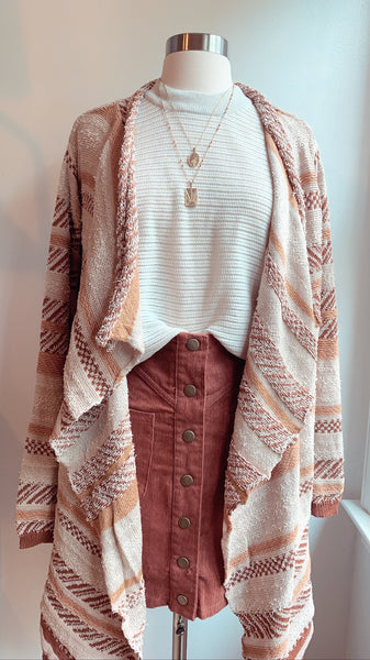 Cotton candy Mexico cardigan - Hippie Kids