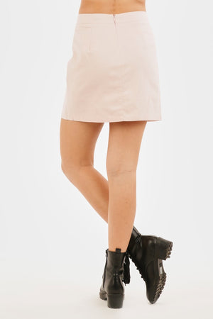Santa Barbra blush Skirt - Hippie Kids