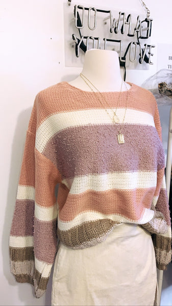 Lilac dreams sweater