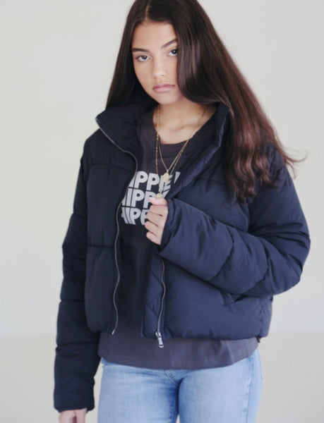 Black wanderer jacket - Hippie Kids