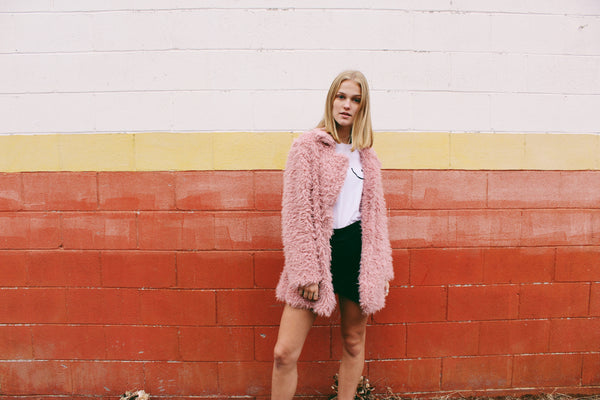 Sweet Dreams Faux Fur Coat - Hippie Kids