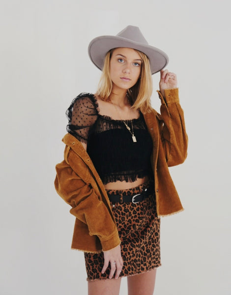 Cheetah skirt - Hippie Kids
