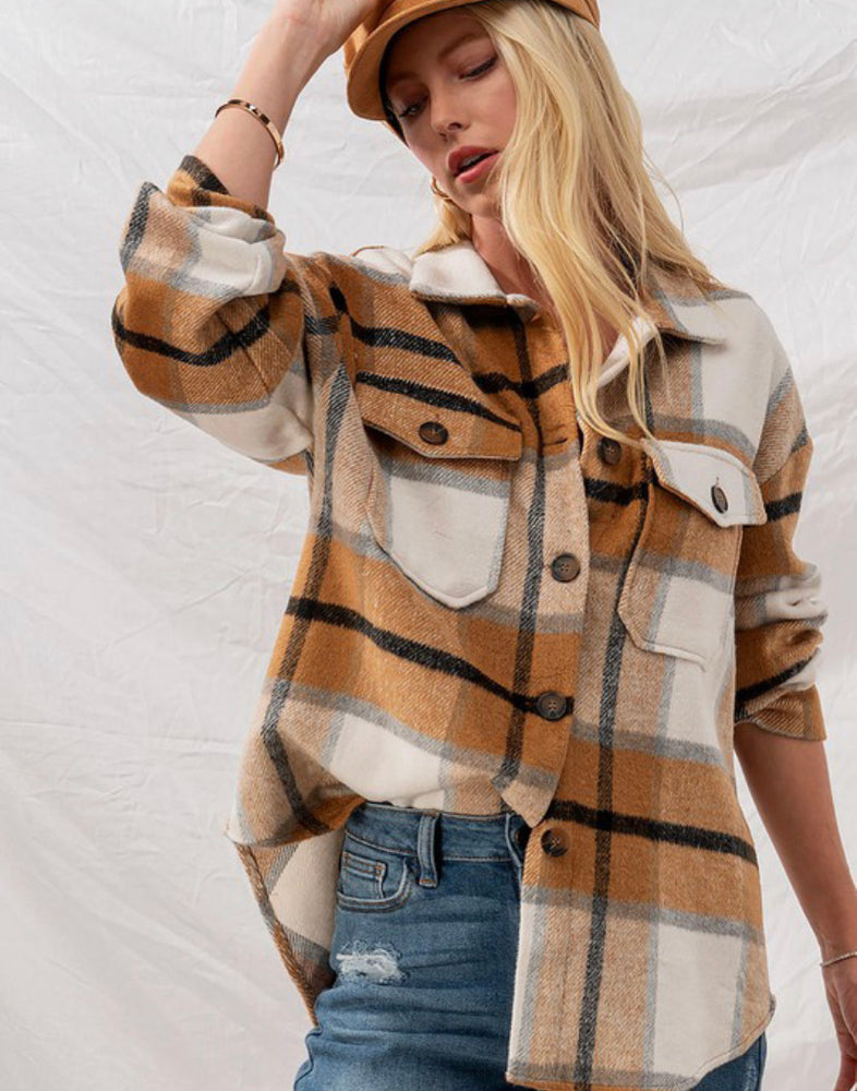 Leo Plaid Jacket
