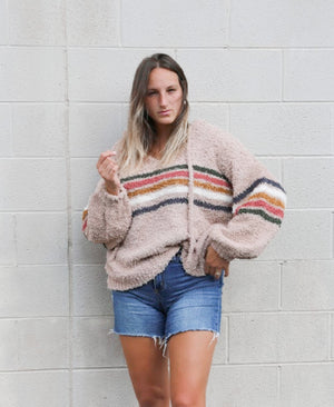 Retro stripe sweater