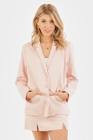 Santa Barbara Blush Blazer - Hippie Kids