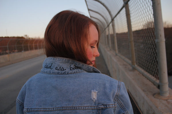 Bad ass babe jacket - Hippie Kids