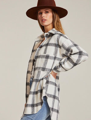 Leo Plaid Top