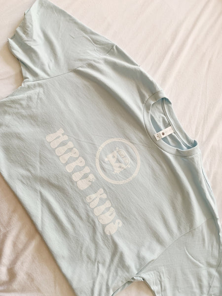 Light blue Hippie Kids tee - Hippie Kids