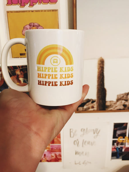 Be Groovy Or Leave Mug - Hippie Kids
