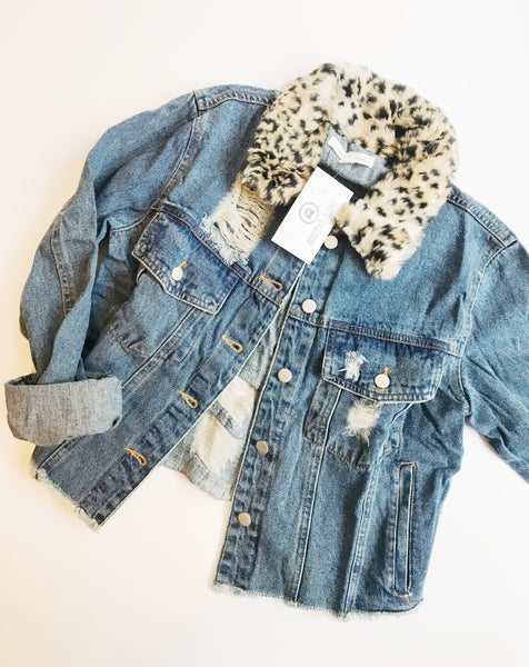 Cheetah Jacket - Hippie Kids