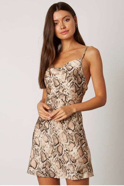 Snake skin silky dreams dress - Hippie Kids