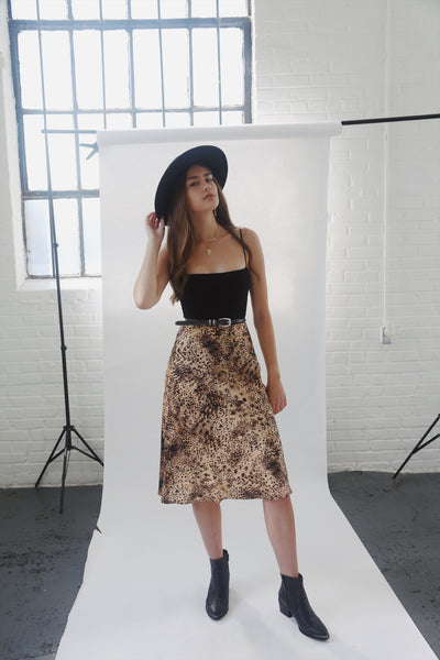 Cheetah print skirt - Hippie Kids