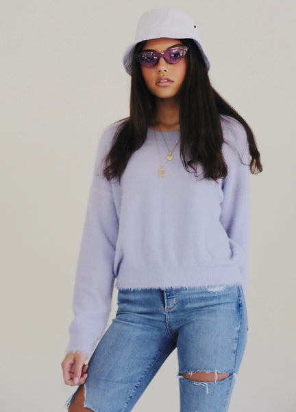 Purple Haze Sweater - Hippie Kids