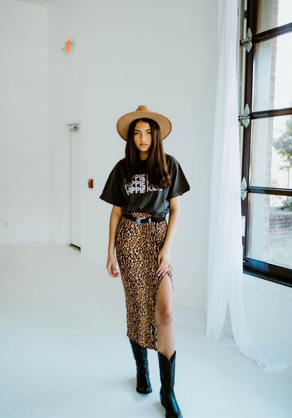 Cheetah maxi skirt - Hippie Kids