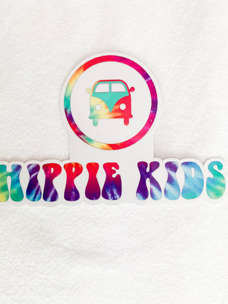 Hippie Kids trippy sticker - Hippie Kids
